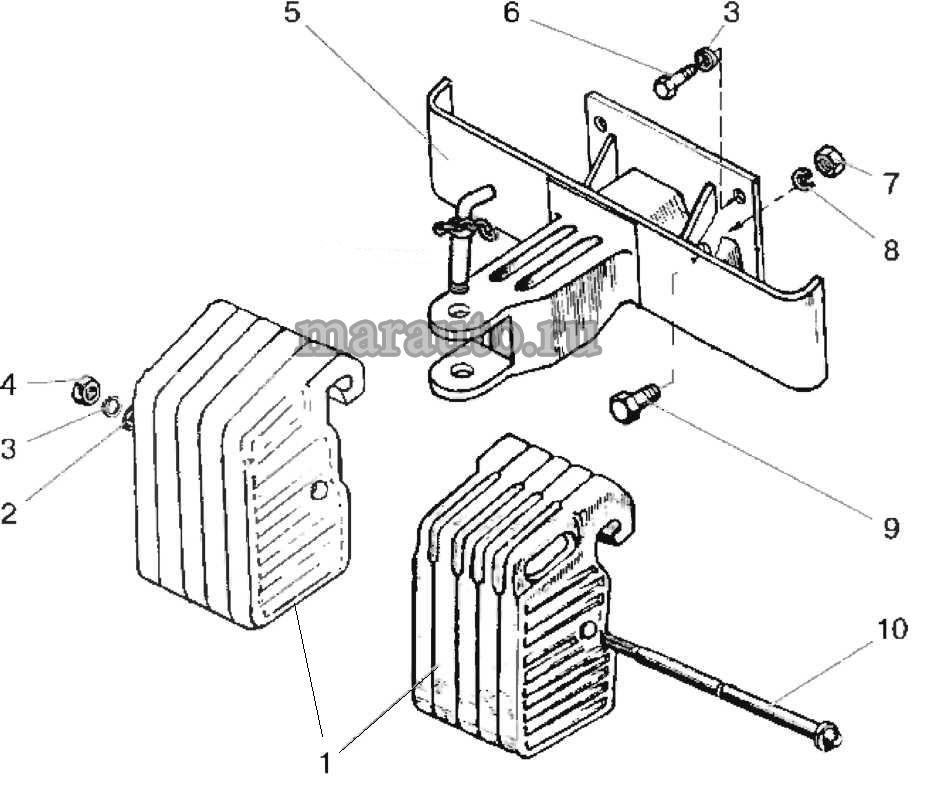 Балласт передний (230 кг) мтз-80/82