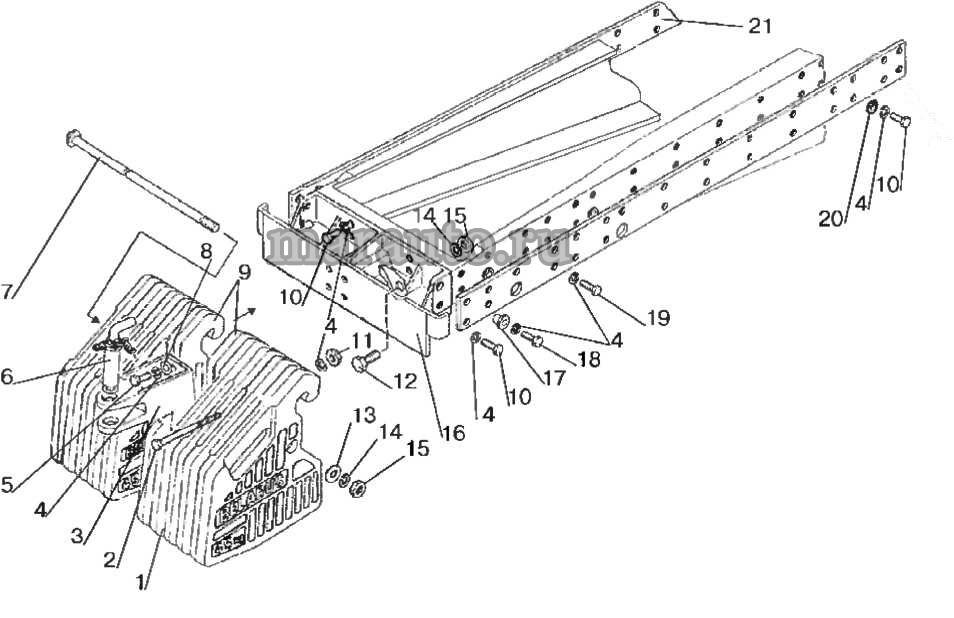 Балласт передний (510 кг) МТЗ-80/82
