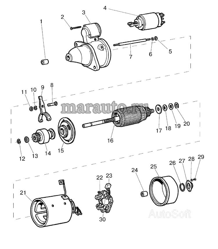 Стартер МТЗ-80/82
