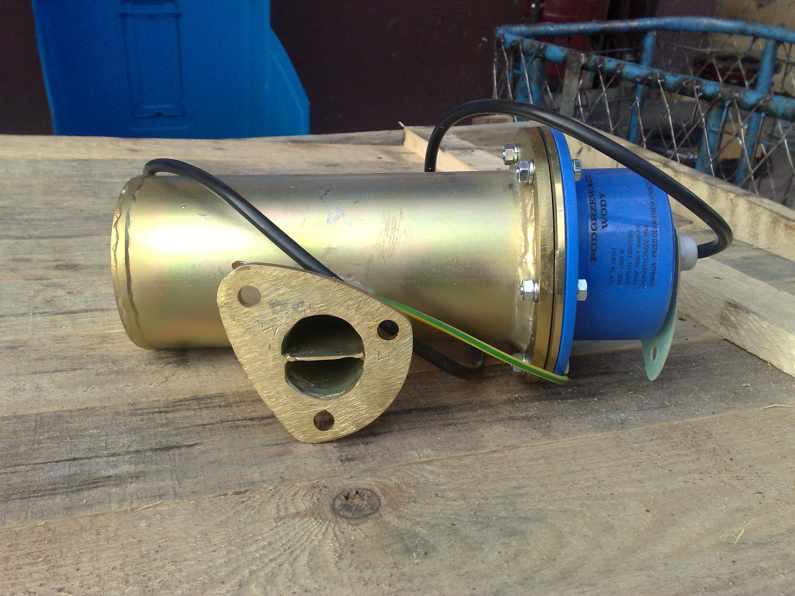 Подогрев двигателя к мтз д-240,д-245: 700 грн. - Воздушный.